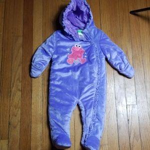 Sesame Street snowsuit